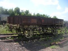 DSCN7495 - GWR Ballast Wagon 60562 (SVREnthusiast) Tags: railway severn valley severnvalley svr severnvalleyrailway