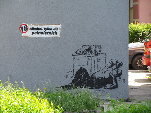 Moral streetart
