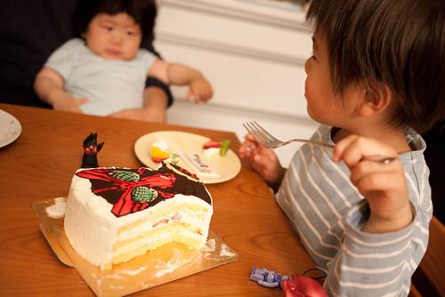 オーズとケーキと熱視線