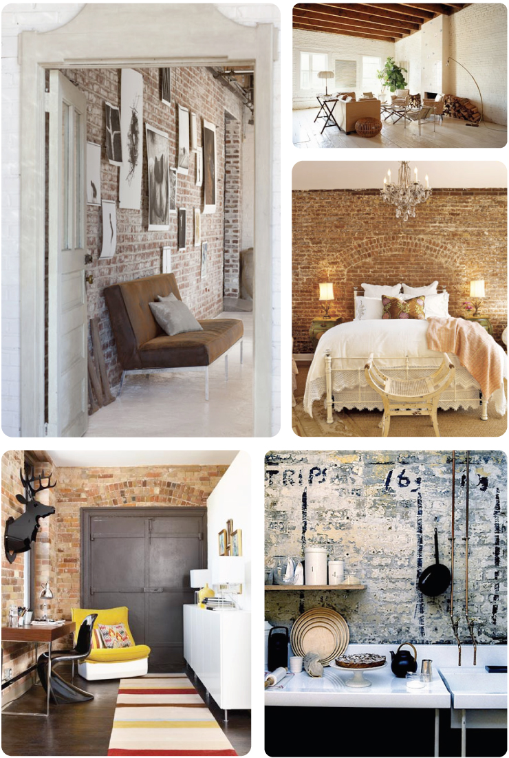 Exposed Brick Inspiration (3)