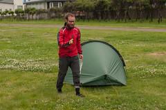 Jack at Hamamatsu Camping Ground, Hamamatsu, Hokkaido, Japan