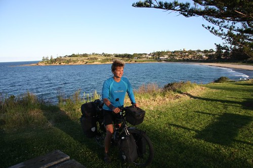 Me in Bermagui. February 2008.