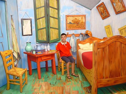Dans La Chambre De Van Gogh  In Van GoghS Bedroom  A Photo On
