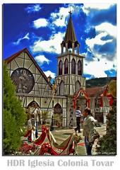 HDR Iglesia Colonia Tovar (xmanve) Tags: tourism church venezuela iglesia turismo hdr novatos coloniatovar sonydscw5 photomatrix dynamicphotohdr