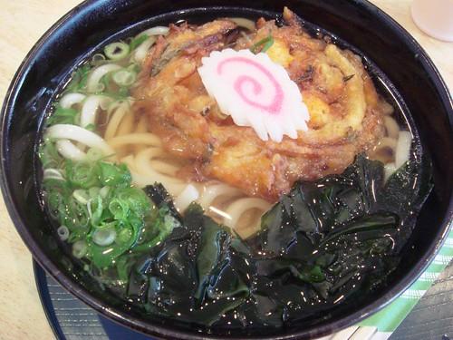 Udon Kakiage@Top Noodle