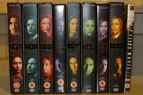 X-Files DVDs season 2 - 9! + the movie!