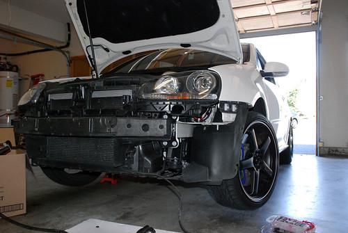 R32 bumper delete