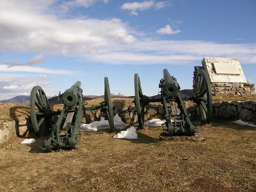 Canons at Shipka