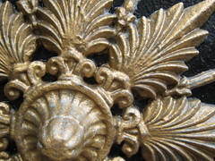 Lancaster - Williamson Park gate (Dubris) Tags: england macro lancashire metalwork lancaster rosette williamsonpark palmette