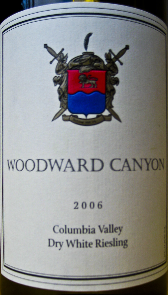 Woodward Canyon Dry White Riesling (2006)