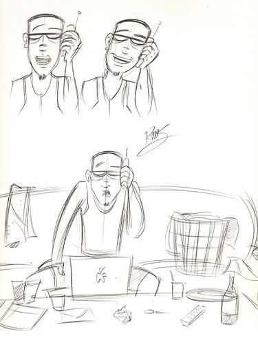 Uncubed: 1st week June sketch