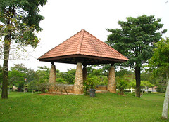 gazebo5 (rhmn) Tags: pictures park playground rock stone rocks picnic open post landscaping space parks gazebo patio granite tropical recreation slate plans ideas