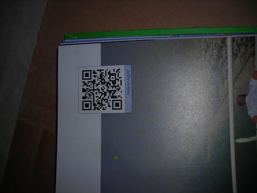 Códigos QR en el libro Gigantes