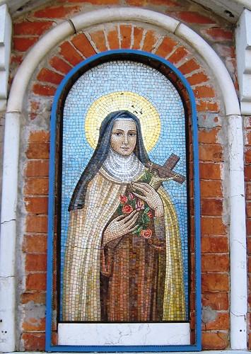 mosaic saint