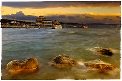 Waiting for storm! (mcazadi) Tags: sky storm water clouds boats bravo rocks long exposure windy  artisticexpression fineartphotos anawesomeshot visiongroup theperfectphotographer photographyexpressions poseidonsdance