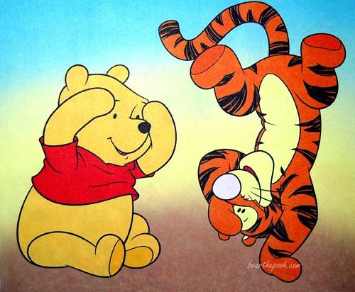 winnie the pooh desktop wallpaper. Winnie the Pooh and Tigger