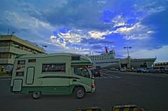 Hokkaido Bound (/\ltus) Tags: hokkaido pentax cruiseship rv oarai carferry campingcar 200806 k20d zil520 sunflowerferry