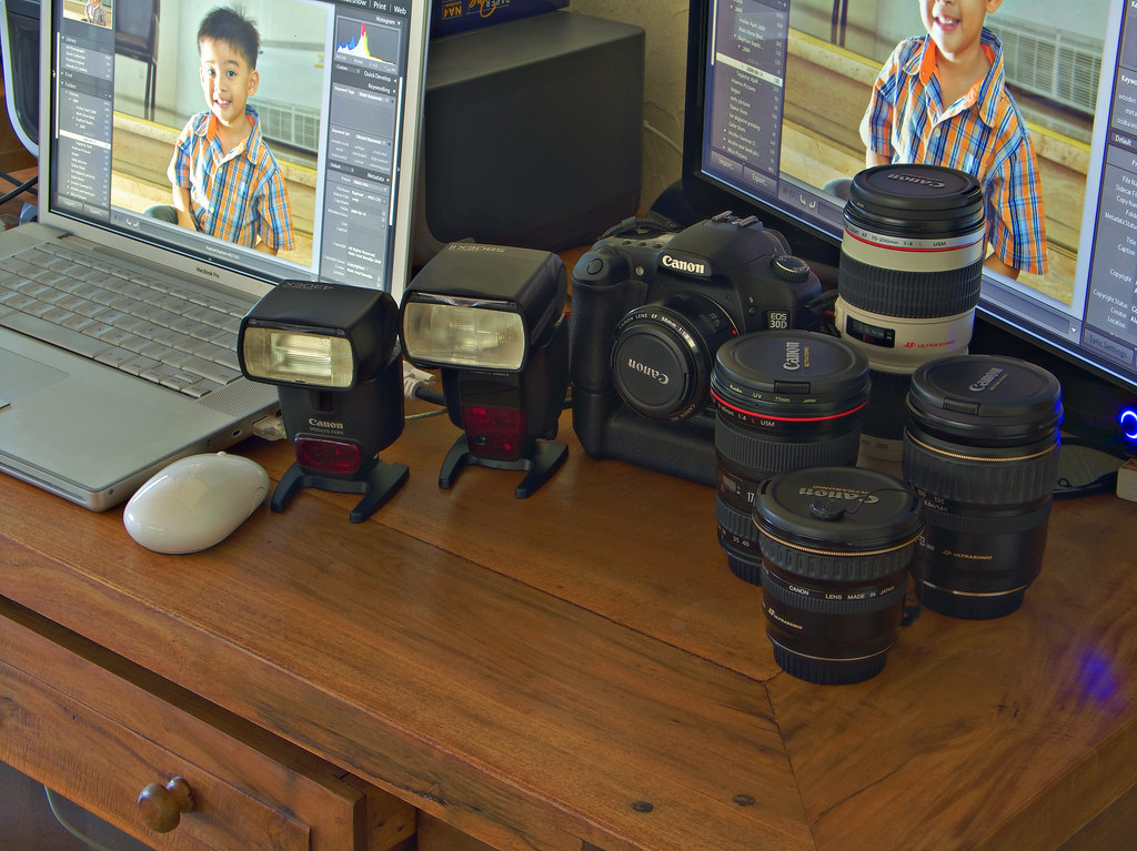 My Gear In HDR
