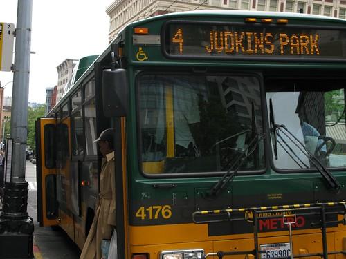 Crammed bus