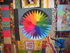 Wheel of lIfe quilt