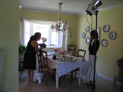 Romantic Homes Photo Shoot!