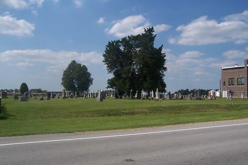Cemetery in Metea