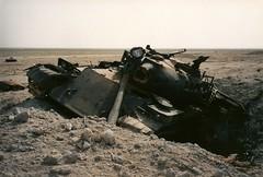 Another tank. (DigitalTribes) Tags: storm war peace desert iraq 1991 iraqi dt digitaltribes operationdesertstorm markoneil