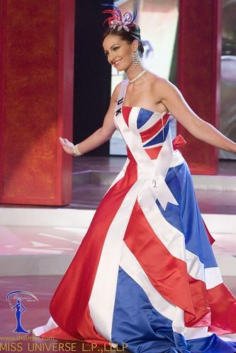 Traje Típico de Miss Reino Unido