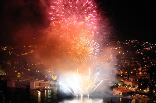 Fireworks @ Dubrovnik Summer Festival Opening por Valentino Stanicic.