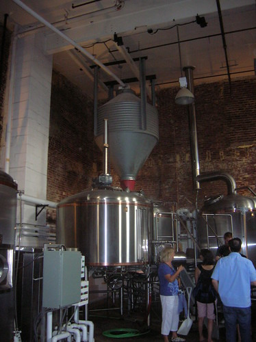Brooklyn Brewery tank