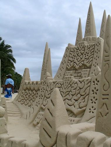 Sand Castles in Boracay