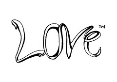 'Love' Typeface by Muid