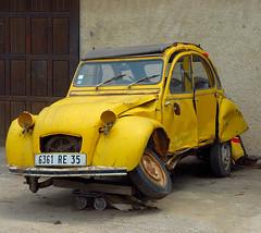 dreamcar (Werner Schnell (1.stream)) Tags: 2 car yellow nikon corsica citroen ente cv ws dreamcar mywinners wernerschnell
