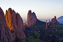 Morning Light (Tiz_herself) Tags: morning sunrise colorado gardenofthegods coloradosprings manitousprings exolore