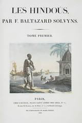 F. Balthazar Solvyns: Les Hindoûs