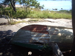 Old rowing boat (hug