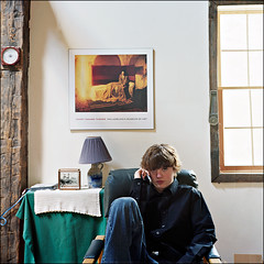 Teenage Still Life (DF9999) Tags: portrait stilllife 120 6x6 film rolleiflex mediumformat square stillleben spring fuji 80mm xenotar fujipro160s rolleiflex28c schneiderxenotar2880mm