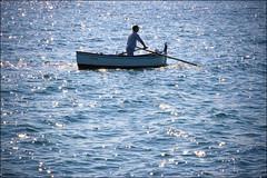 LUISA (Roy Del Vecchio) Tags: blue italy boat fisherman barca italia di luisa puglia bari mola moladibari