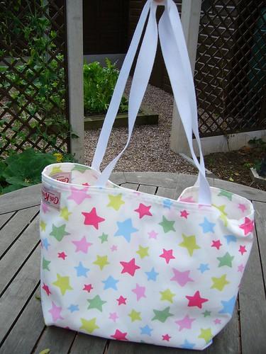 Cath Kidston Tea Towel Market Bag