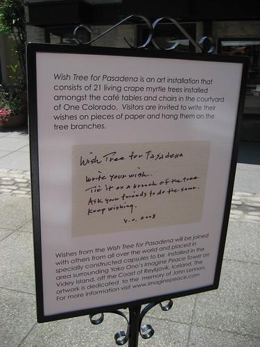 Wish Tree in Pasadena - 4