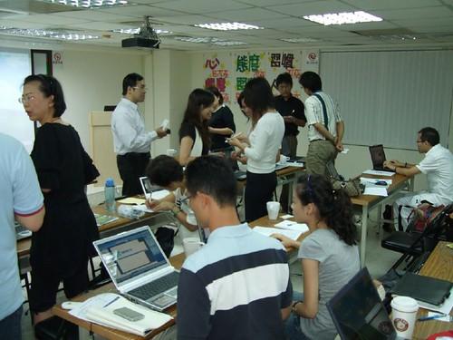 你拍攝的 20080811eComing-電子報實作研討042。