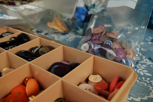 Mom's button box