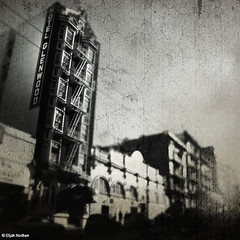 Hotel Glenwood (elijah northen) Tags: sanfrancisco hotel grain sutter looming elijahnorthen hourofthesoul