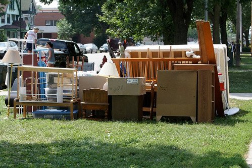 Downtown Madison moving day by ibm4381, on Flickr