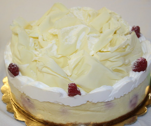 I think raspberry cheesecake with white chocolate