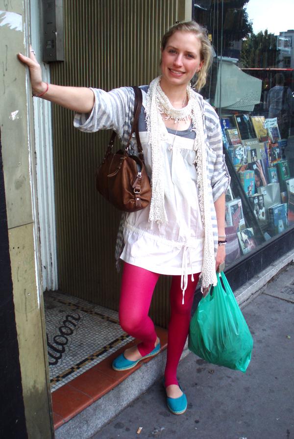 pink tights
