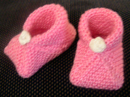 Page 81 Baby Booties (my version)