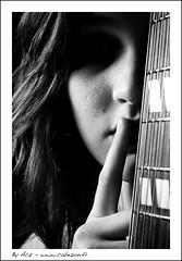 Camille (Acz Photographer (France/Lille)) Tags: music song album singer instrument fullframe camille chanson musique guitare chant artiste chanteuse camy maubeuge strobist d700 nikond700