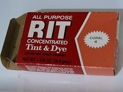 Old box of Rit