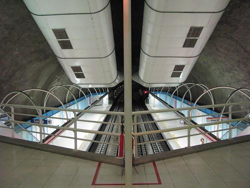 Metrô Copacabana Subway Copacabana Estação Cantagalo Station Metrô Rio de Janeiro metrorio